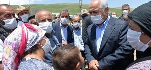 Bakan Yardımcısı Ersoy, depremzede vatandaşlarla bir araya geldi