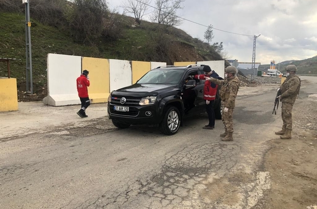 Kozluk'ta 20 adres karantinaya alındı