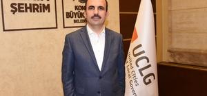 UCLG Eş Başkanı Altay, Volkan Bozkır'ı tebrik etti