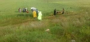 Kütahya'da trafik kazası: Aynı aileden 4 kişi yaralandı