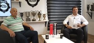 """Ayfer Elmastaşoğlu: """"Altay'ın yeri Süper Lig"""" Altay'ın efsane ismi Ayfer Elmastaşoğlu: """"Altay'ı daha iyi yerlerde görmek istiyorum"""""""