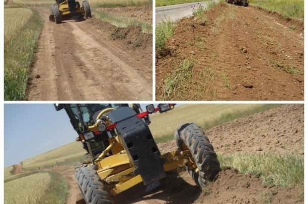 İl Özel İdaresi, köy yol yapım çalışmalarını sürdürüyor