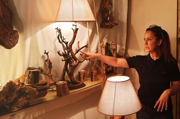 İki çocuk annesi hobi olarak başladı, şimdi ürünlerini dünyaya satıyor Ağaç oymacılığını hem sanata hem de kazanca dönüştürdü