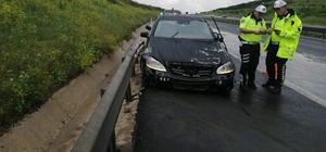 İYİ Parti milletvekili Ümit Beyaz trafik kazasında yaralandı