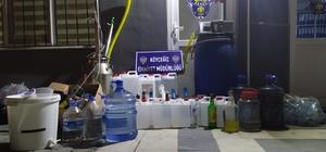 Köyceğiz'de sahte içki operasyonu