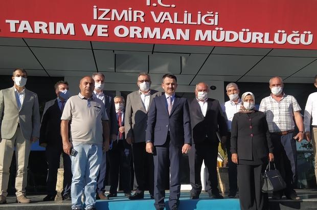 """Üreticiden Bakan Pakdemirli'ye teşekkür Tire Süt Kooperatifi Başkanı Mahmut Eskiyörük: """"Tarım Bakanımızın 'İthalat yerine yerli üretime önem vereceğiz' açıklaması bizi umutlandırdı. Teşekkür ediyoruz"""""""