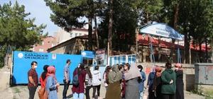 Oltu'da 634 öğrenci sınavda ter döktü