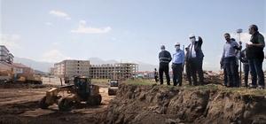 Erzurum'da kentsel dönüşüm Aziziye'den başladı Depreme dayanıklı Modern bir şehir Erzurum Aziziye'de kuruluyor
