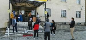 LGS Posof'ta üç okulda yapıldı