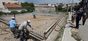 Gaziemir'in taziye evleri, hizmete girmek için gün sayıyor
