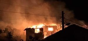 Bilecik'te 3 ev kül oldu, 4 kişi de hastanelik Kiraz toplamaya geldi, evi kül oldu