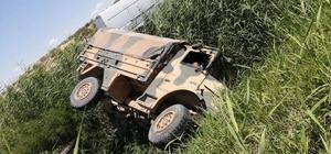 Gaziantep'te askeri araç devrildi: 4 yaralı