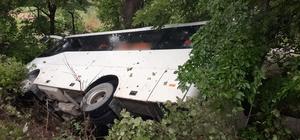 Tekirdağ'da yolcu minibüsü devrildi: 5 Yaralı
