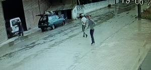 Kablo hırsızları güvenlik kamerasına yakalandı