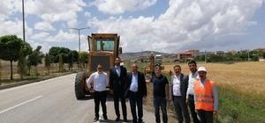 Çiçekdağı-Yerköy arası yeşil yol projesi yapımı başladı