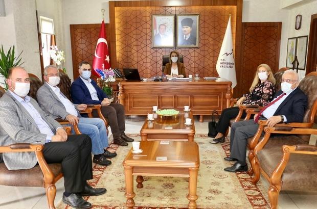 KAPTİD Yönetimi, Vali Becel'i ziyaret etti