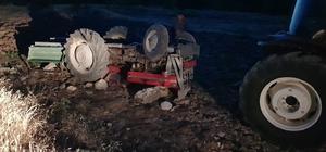 Elazığ'da traktör devrildi: 4 yaralı