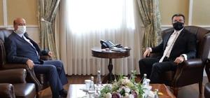 İYİ Parti İl Başkanı Kırkpınar'dan Vali Memiş'e ziyaret