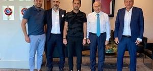 B.B. Erzurumspor Kulübü'nden TFF Başkanı Nihat Özdemir'e nezaket ziyareti