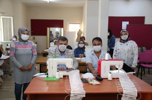 Kepsut'ta maske diken bayanlara teşekkür belgesi