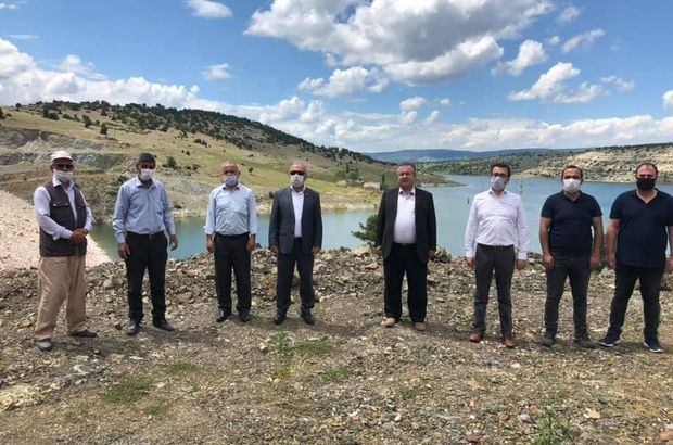 Kureyşler barajı etrafına mesire alanı