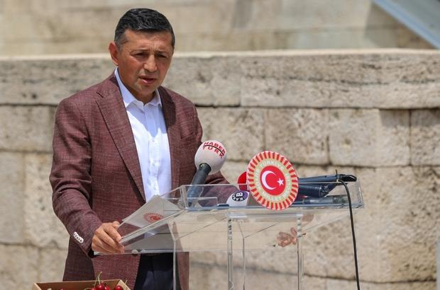 Milletvekili Erbaş, Kütahyalı kiraz üreticilerinin mecliste sesi oldu