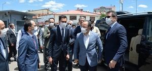 İçişleri Bakan Yardımcısı Çataklı depremden etkilenen köyleri ziyaret etti