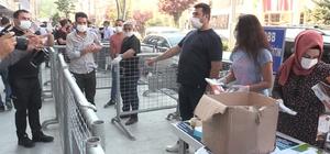 TOBB Mesleki Eğitim Merkezi 3 bin maske dağıttı