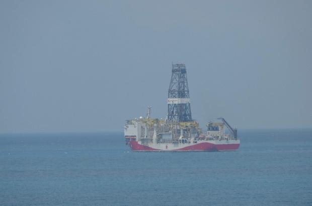 Sondaj çalışmaları için hareket etti Fatih Sondaj Gemisi Karadeniz'e açıldı Gemi, sondaj çalışmalarının ilk durağı olan Karadeniz Ereğlisi'ne hareket etti
