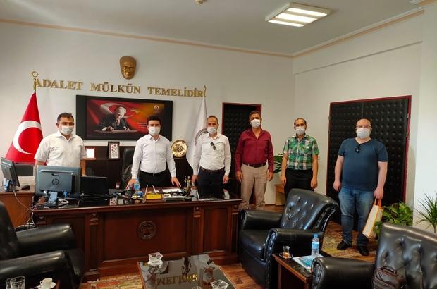 Büro Memur Sen'den Başsavcıya ziyaret