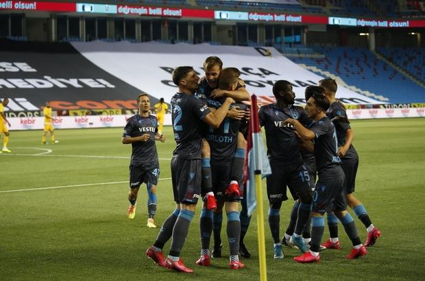 Süper Lig: Trabzonspor: 1- MKE Ankaragücü:0 (Maç devam ediyor)