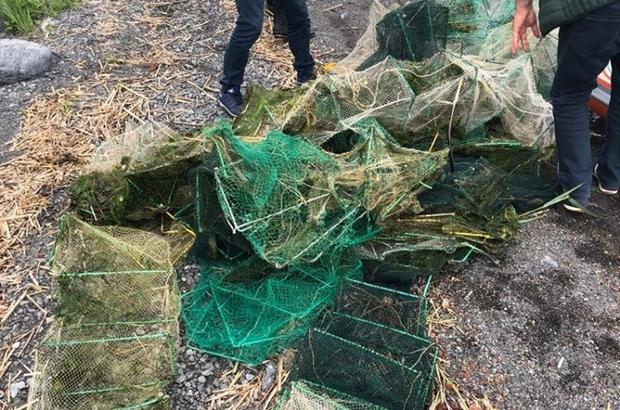 Kaçak avcıların ağları toplandı