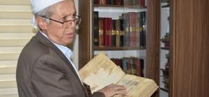 6 asırlık el yazması ilim kitapları tarihe ışık tutacak