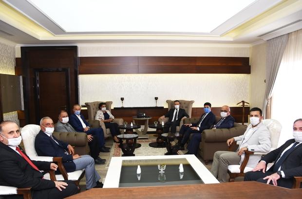 Başkan Çerçioğlu'ndan Vali Aksoy'a hayırlı olsun ziyareti