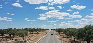Gaziantep kırsalındaki yollara yoğun bakım