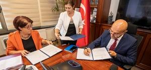 İZSU, Uluslararası Finans Kurumu kredisiyle 34 milyonluk yatırım yapıyor Kredi anlaşmasının yetki mektubu için imzalar atıldı