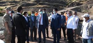 Vali Mahmut Çuhadar ilçe gezilerine başladı