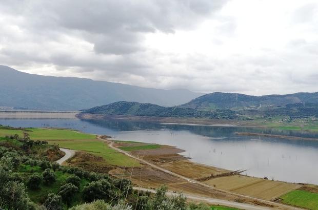 Beydağ Barajı'nda sulama sezonu sona erdi
