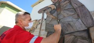 Belediye çalışanından kayrak taşıyla Çöpçüler Kralı Çöpçüler Kralı Gaziemir'de ölümsüzleşti