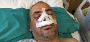 Uzman jandarmayı öldüresiye dövdüler Dört kişi tarafından saldırıya uğrayan Uzman Jandarma kan revan içindeyken muhtarın da saldırısına uğradı