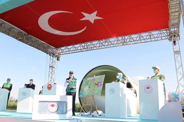 """Bakan Pakdemirli: """"18 milyon dekar araziyi sulamaya açtık"""" Konya Ovası Sulaması 1., 2. ve 3. kısım sulamaları, Cumhurbaşkanı Recep Tayyip Erdoğan'ın İstanbul'dan canlı olarak bağlandığı törenle hizmete alındı"""
