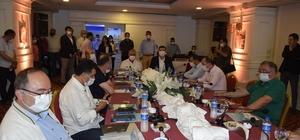 Burdur Belediye Başkanı Ercengiz, CHP'li Belediye başkanlarını ağırladı