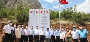 Vali Makas, Kemaliye'de açılış ve ziyaretlerde bulundu