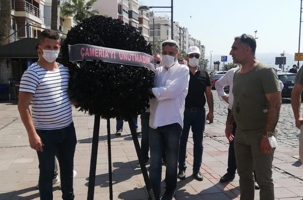 """Arnavut tarihinin en kara günü """"Çameria Katliamı"""" İzmir'de anıldı """"Soykırıma uğrayan soydaşlarımızın ve onların çocuklarının hakkını sonuna kadar arayacağız"""" """"Uğradıkları soykırımı dünya gündemine taşıyacağız"""""""