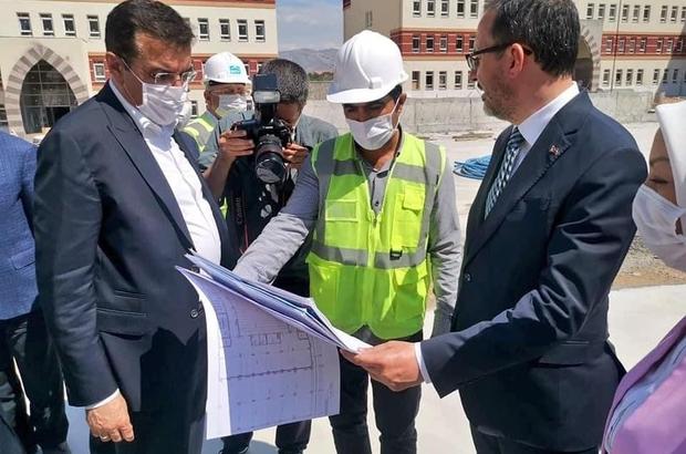 Bakan Kasapoğlu'ndan Malatya'ya yatırım müjdesi