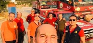Emet Orman İşletme Müdürlüğü ekipleri Gelibolu yangınında görev aldı