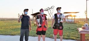 Trap Takımı'ndan ilk turnuvada iki madalya birden
