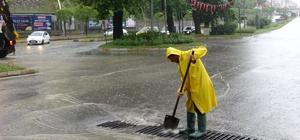 62 yaşındaki adam yıldırımdan etkilenip öldü Zonguldak'ta şiddetli yağış etkili oldu
