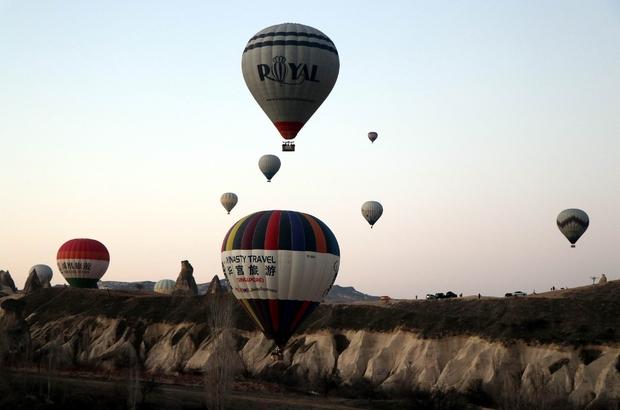 Kapadokya'da turizmciler balon uçuşlarının yapılmasını istiyor Balon turlarının iptaline büyük tepki Kapadokya'dan SHGM'ye veryansın