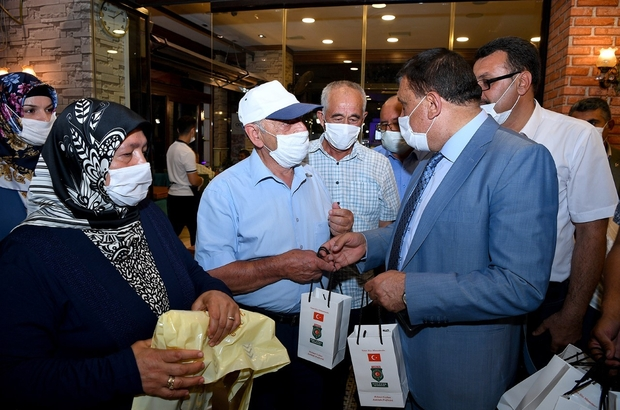 Başkan Gürkan, şehit ve gazi aileleriyle buluştu